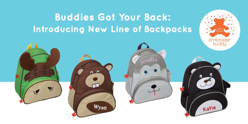 Buddies Got Your Back: Introducing New Line of Backpacks