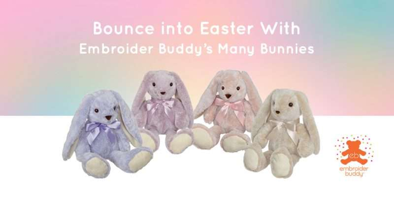 EB-Blog-Bounce into Easter With Embroider Buddy's Many Bunnies