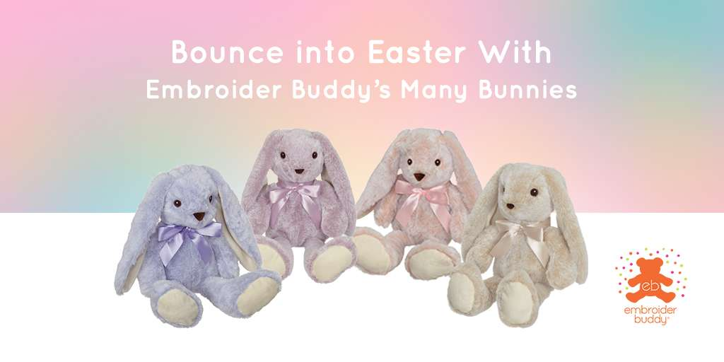 Bounce into Easter With Embroider Buddy's Many Bunnies