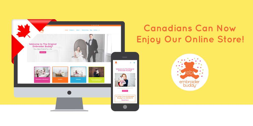 Canadians Can Now Enjoy Our Online Store!