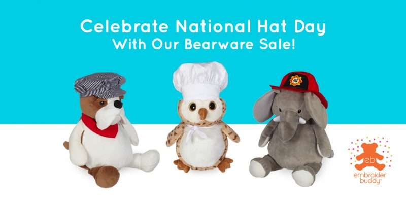 EB-Blog-Celebrate National Hat Day With Our Bearware Sale!