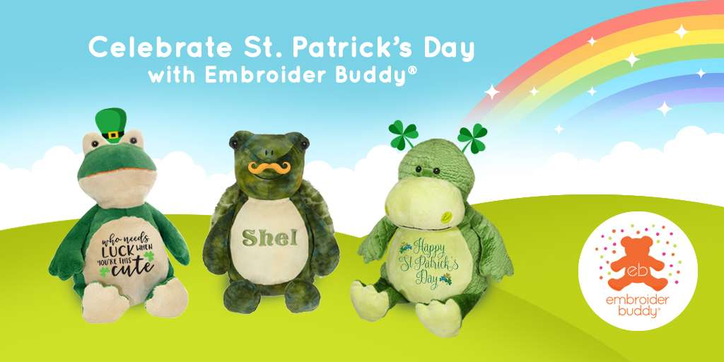 Celebrate St. Patrick's Day with Embroider Buddy®