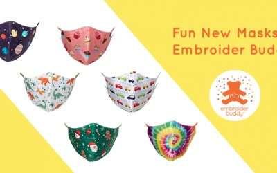 Fun New Masks at Embroider Buddy®