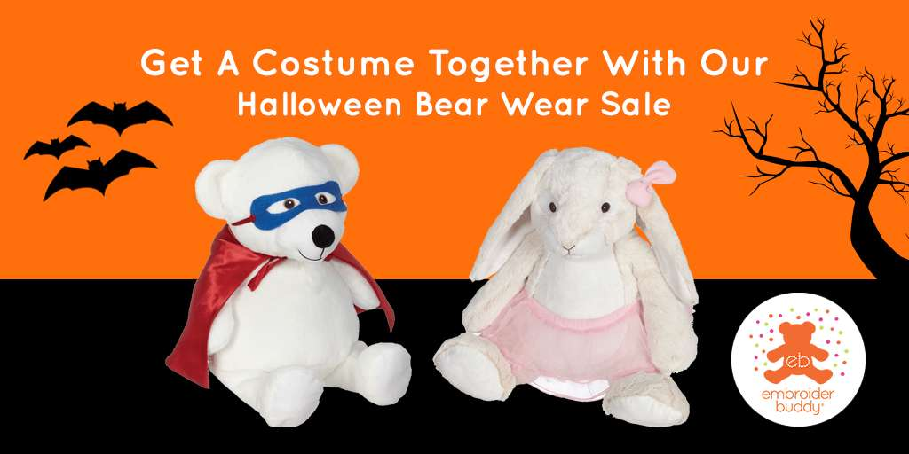 Get A Costume Together With Our Halloween Bear Wear Sale!