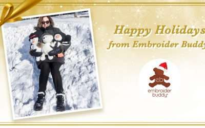 Happy Holidays from Embroider Buddy®!
