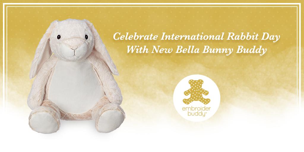 Celebrate International Rabbit Day With New Bella Bunny Buddy!