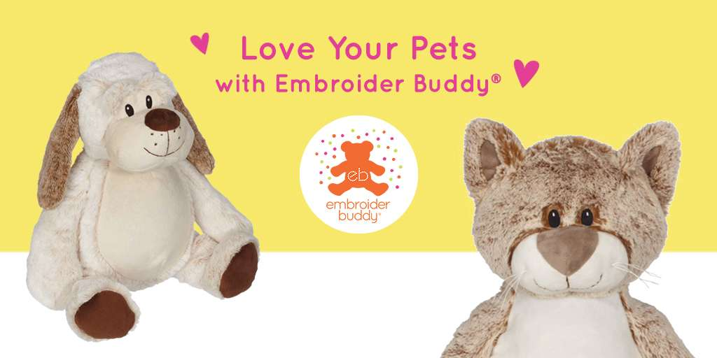 Love Your Pets with Embroider Buddy®