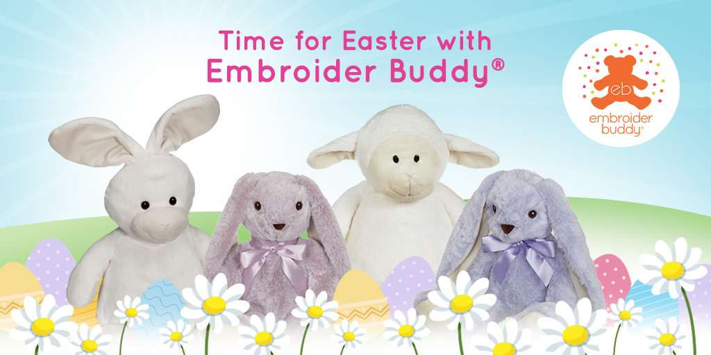 Time for Easter with Embroider Buddy®!
