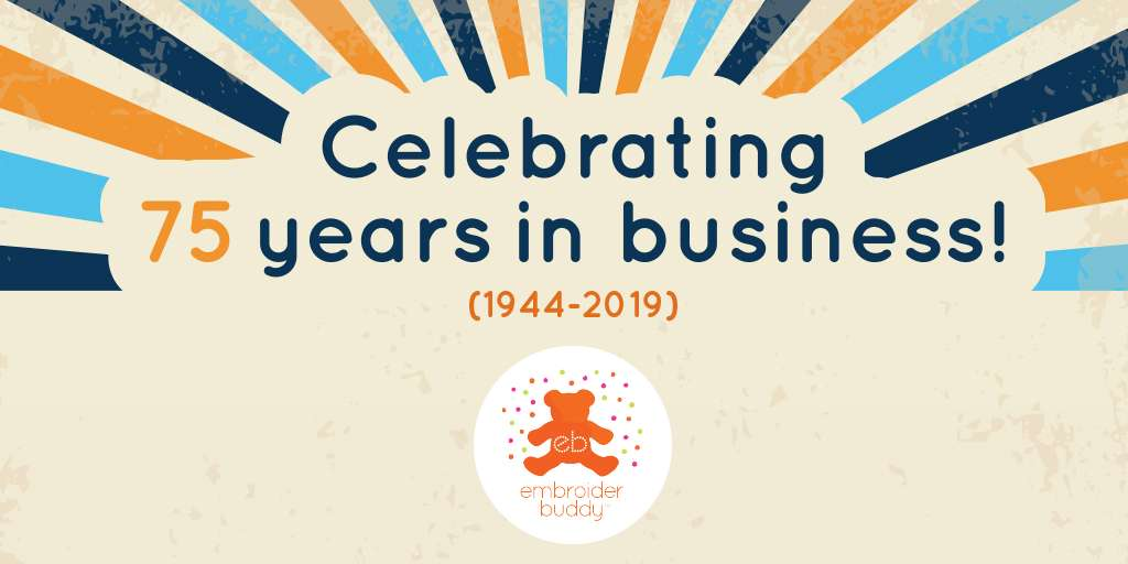 Celebrating 75 Years in Business! (1944 – 2019)