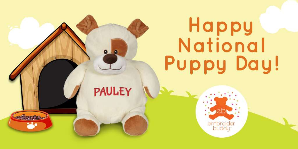 Happy National Puppy Day!