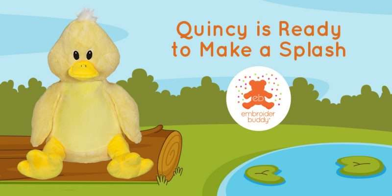 Quincy is Ready to Make a Splash!