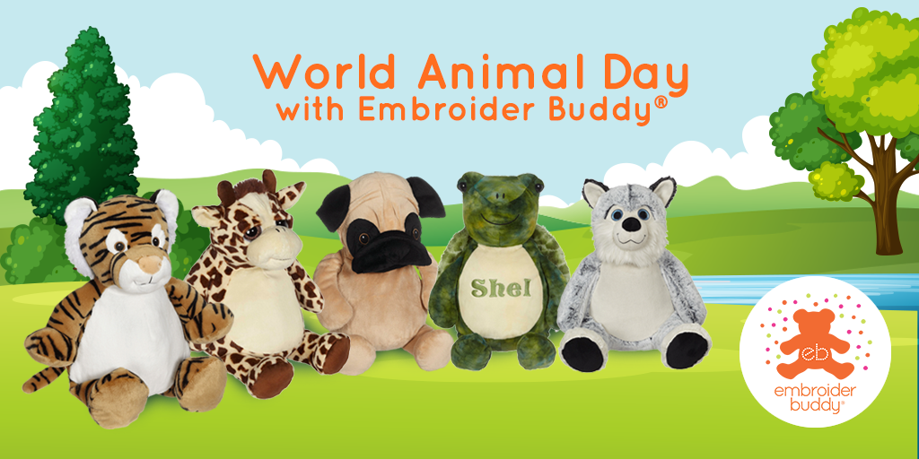 World Animal Day with Embroider Buddy®!