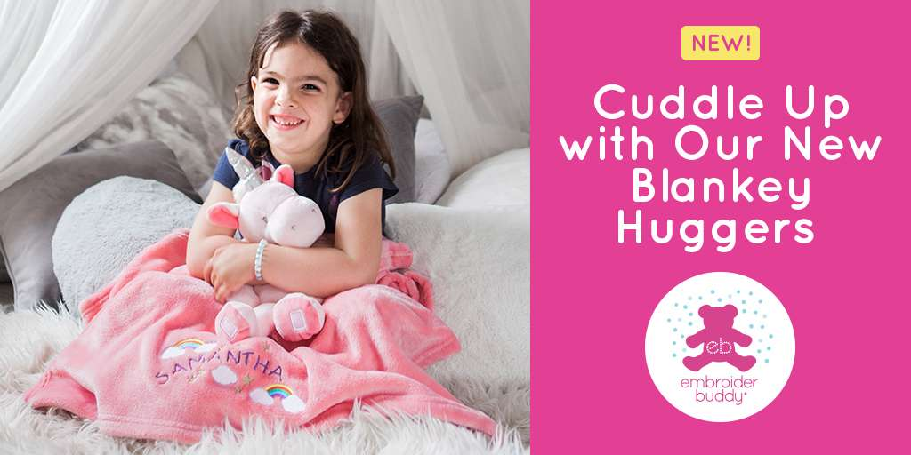 Cuddle Up with Our New Blankey Huggers!