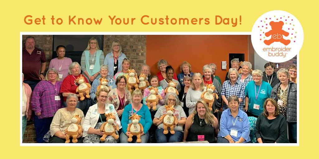 Get To Know Your Customers Day!