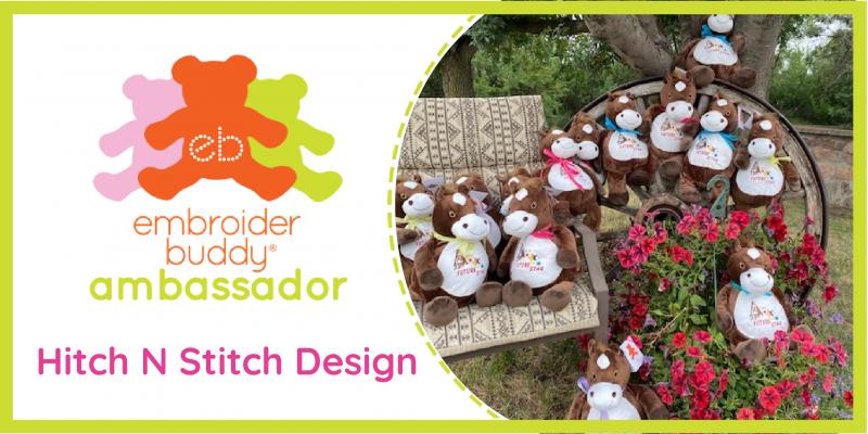 Embroider Buddy® Ambassador –  Hitch N Stitch Design