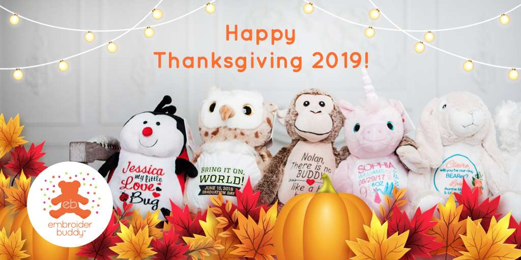 Embroider Buddy Thanksgiving