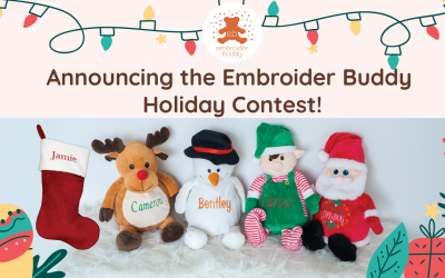 Announcing the Embroider Buddy Christmas Contest!