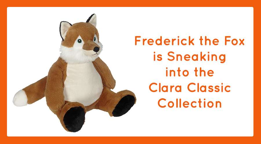Frederick the Fox is Sneaking into the Clara Classic Collection