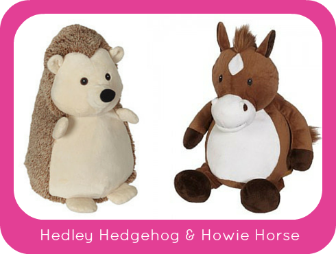 Welcome Hedley Hedgehog & Howie Horse