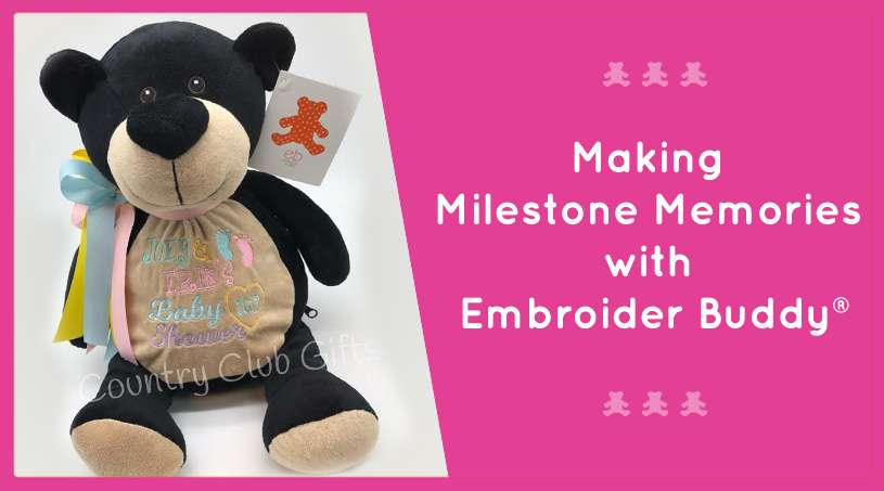 Making Milestone Memories with Embroider Buddy®