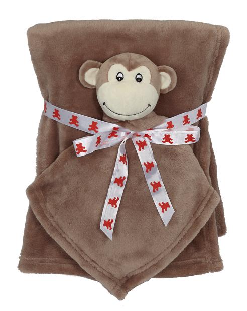 Monkey Blankey Buddy