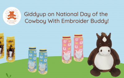 Giddyup on National Day of the Cowboy With Embroider Buddy!