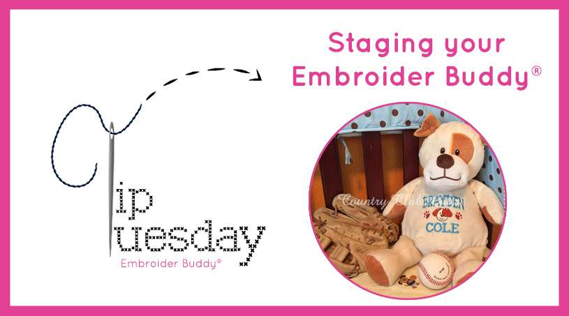 Tip Tuesday: Staging your Embroider Buddy