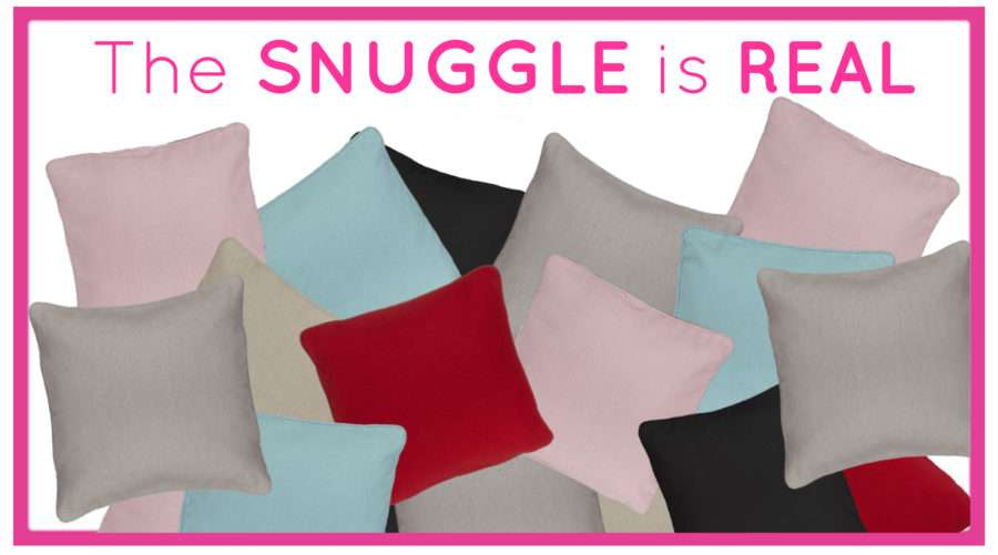 The Snuggle is Real: Using Heat Transfer Vinyl on Your Pillows