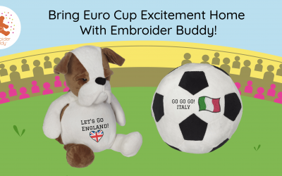 Bring Euro Cup Excitement Home With Embroider Buddy®