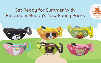Get Ready for Summer With Embroider Buddy's New Fanny Packs