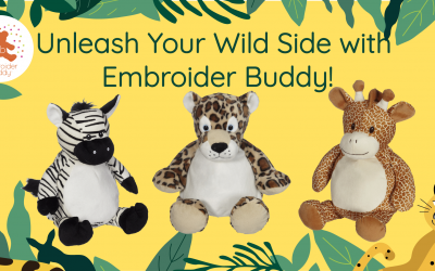 Unleash Your Wild Side with Embroider Buddy!